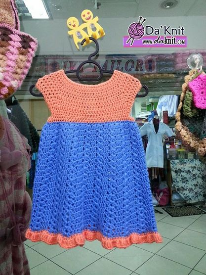 Free Crochet Pattern Little Cutie Baby Dress 6 18 Months Old