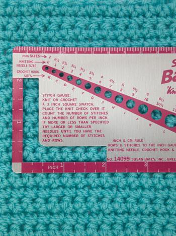 Crochet-Gauge