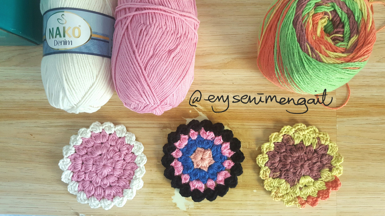 Free crochet pattern the supernova coaster kelas seni mengait pattern by erysenimengait ccuart Gallery